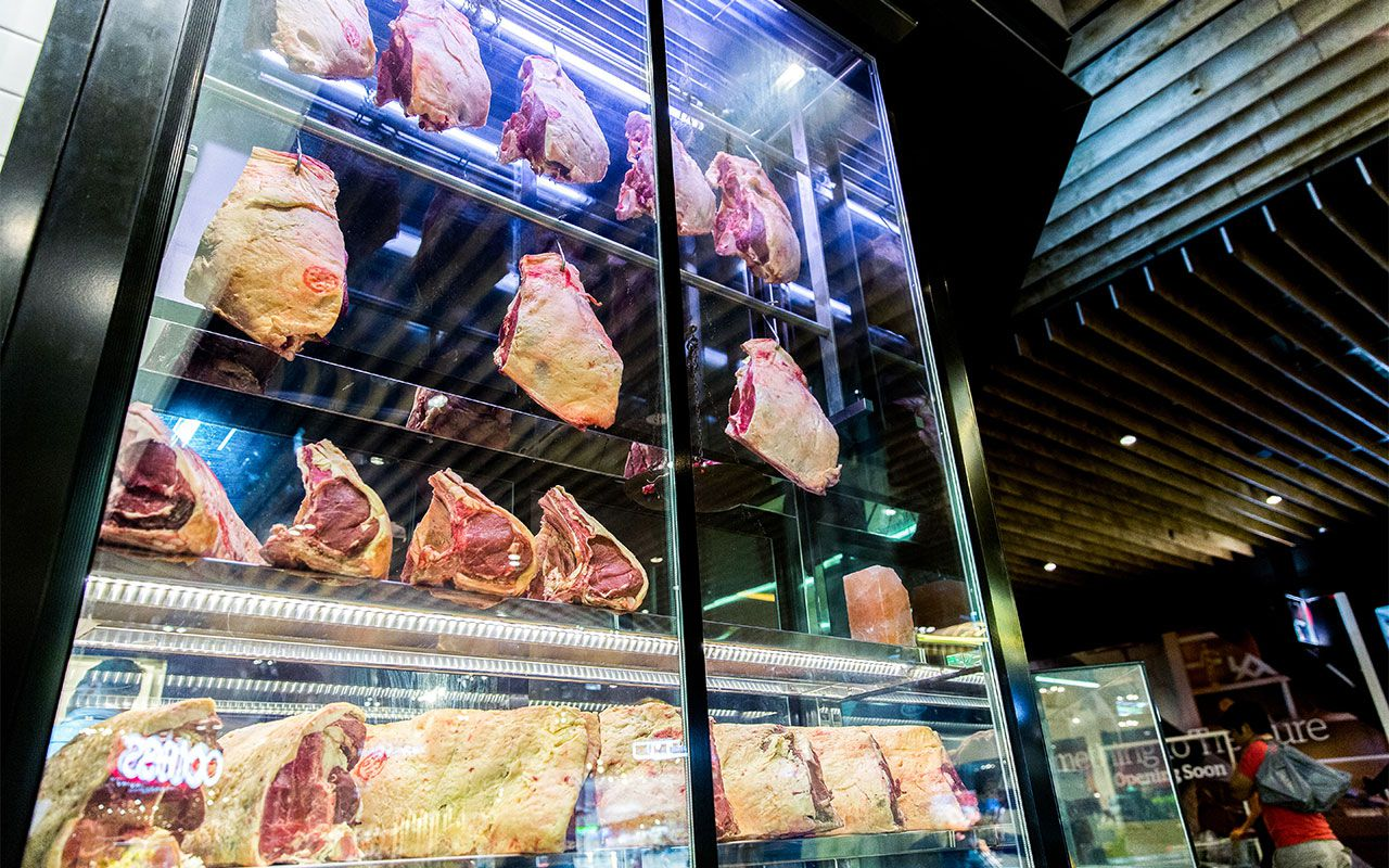 Bubblefish - Case Study - Meat display